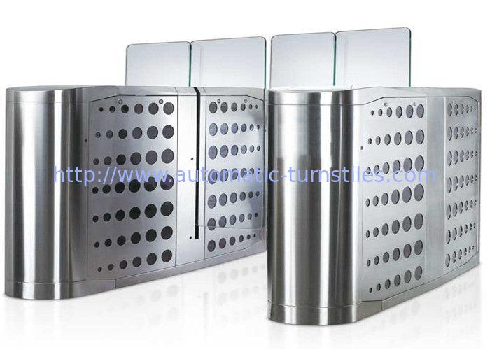 Pedestrian waist height access control turnstiles gate