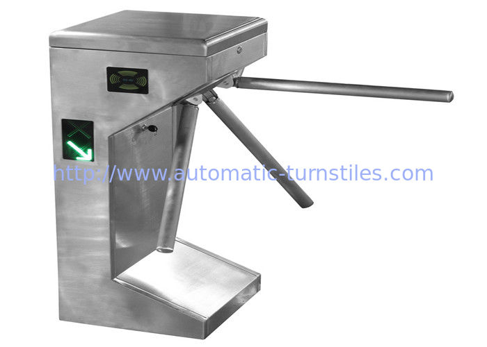 Waist height full automatic security turnstile gate