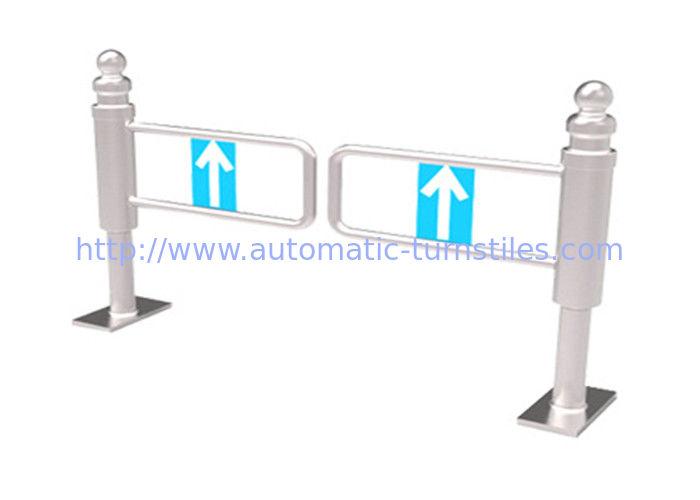 Single direction entrance waist high Pedestrian Swing Gate