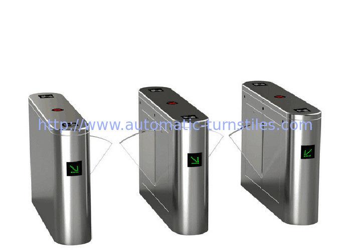 Biometric barcode scanner tripod turnstile gate rfid