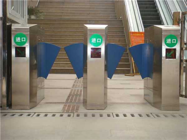 High speed intelligent automatic systems turnstiles with